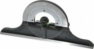 Spi 12 To 24 Inch Long Blade Combination Square Protractor Head Cast Iron