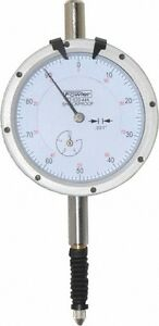 Fowler 0 4 Inch Range 0 100 Dial Reading 0 001 Inch Graduation Dial Drop In