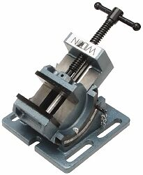 Wilton 3 Jaw Opening Capacity X 1 1 8 Throat Depth Angle Drill Press Vise