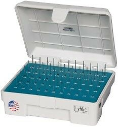 Meyer Gage 65 Piece 0 22 1 5 Mm Diameter Plug And Pin Gage Set Minus 0 0001