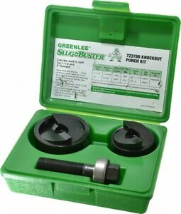 Greenlee 10 Gage Capacity Manual Knockout Punch Set 2 Inch Hole Diameter