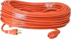 Southwire 125 Vac 10 Amp 100 Ft Long Extension Cord 16 3 Wire Gauge 1 Rec