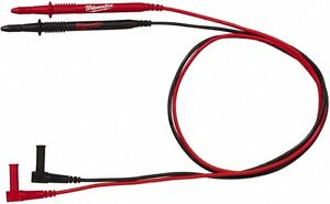 Milwaukee Tool Electrical Equipment Tester Black And Red Test Leads Set For U