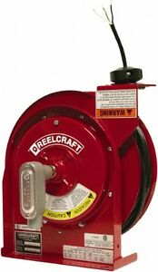 Reelcraft 12 Awg 14m Long Flying Lead Cord And Cable Reel Sjeoow 20 A 12