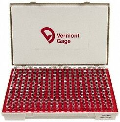 Vermont Gage 250 Piece 0 2515 0 5005 Inch Diameter Plug And Pin Gage Set Min