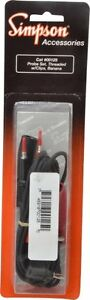 Simpson Electric Electrical Equipment Tester Test Lead For Use With Analog Mu