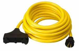 Southwire 15 Amp 25 Ft Long Extension Cord 10 3 Wire Gauge