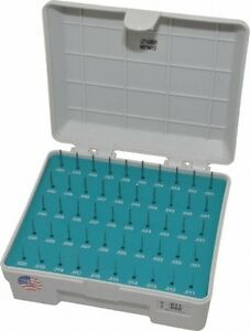 Meyer Gage 50 Piece 0 011 0 06 Inch Diameter Plug And Pin Gage Set Plus 0 00