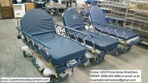 Stryker 1015 Big Wheel Stretcher Gurney For Sale Bariatric Stretcher