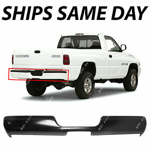 New Primered Steel Rear Bumper Face Bar For 1994 2002 Dodge Ram 1500 2500 3500