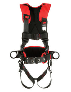 Protecta Construction Harness 3 D rings With Reinforced Belt