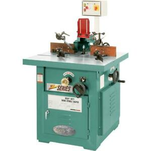 G7215z Grizzly 7 1 2 Hp 3 phase Tilting Spindle Shaper