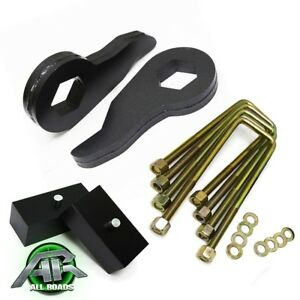 92 99 Chevy Suburban 1500 4x4 3 Inch Front 3 Rear Full Leveling Lift Kit