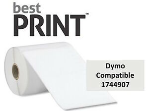 Best Print Brand Dymo Comp 1744907 Shipping Thermal Labels 4 X 6 220 roll