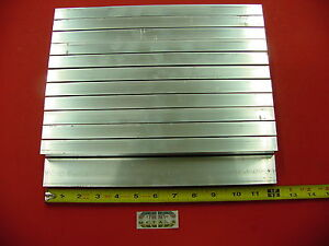 12 Pieces 3 4 x 1 1 2 x 1 8 Wall Aluminum Rectangle Tube 6063 T52 X 12 Long
