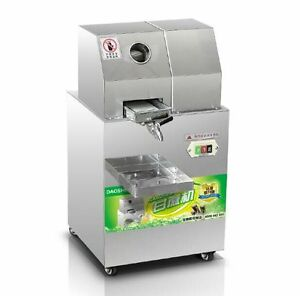 Automatic Commercial Sugar Cane Juicer Electric Juice Extractor 300kg h