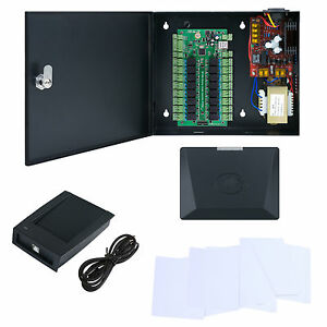 Elevator Board Access Control System Elevator Control Kit Rfid Reader 20 Cards