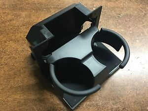 New Oem 2006 2014 Nissan Grey Rear Console Cupholder Frontier Pathfinder Xterra