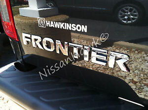 New Oem 2005 2016 Nissan Frontier Rear Hatch Gate Emblem frontier