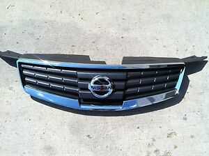 New Oem 2007 2008 Oem Factory Nissan Maxima Chrome Grille With Emblem