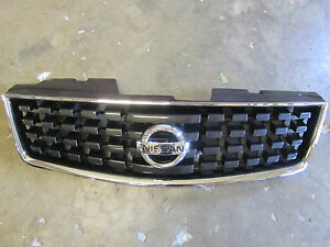 New Oem 2008 2009 Nissan Sentra Front Grille Non Sport Package With Emblem
