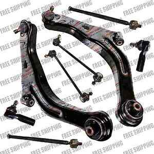 Suspension Kit Lower Control Arm Tie Rod Sway Bar Link For 01 04 Mazda Tribute