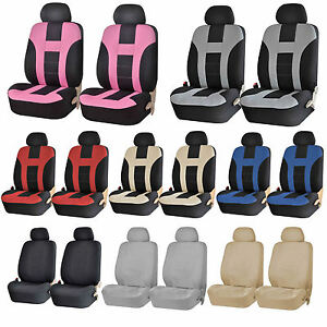 Premium U A A Inc Universal Polyester Front Low Back Seat Covers For Cars