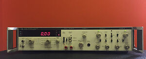 Hp Agilent 5328b Opt 050 100 Mhz Channel A Universal Counter Tested