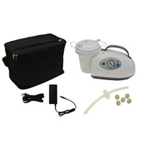New Portable Ac Dc Suction Machine Roscoe Model 50006 Complete
