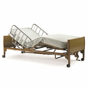 New Full Electric Hospital Bed Package Complete With Mattress Side Rail Frame