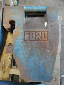 Ford Tractor 70 Lb Weights Multiple Available C7nn 3a370 b Tag 781
