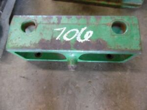 John Deere 30 40 Series Front Weight Bracket R60328 Tag 706
