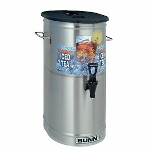 Bunn Tdo 4 Iced Tea Dispenser Oval Complete Dispensing 4 gallon Free Shipping