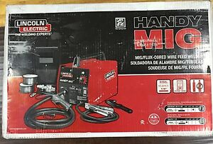 Lincoln Electric Welder Handy Mig Welder Wire Feed Welding Machine 20 Amp 115v