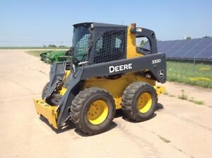 2009 John Deere 332d Skid Steer Loaders