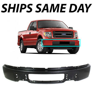 New Primered Steel Front Bumper Face Bar For 2009 2014 Ford F150 Pickup Truck