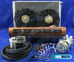 A C Kit Universal Under Dash Evaporator Kit Air Conditioner 228 100 W 12v