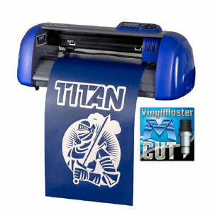 15 Table Titan Craft Vinyl Cutter Sign Cutting Plotter W vinylmaster Cut