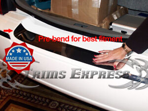 2003 2011 Lincoln Town Car Rear Trunk Protector Accent Trim Cover Door Chrome