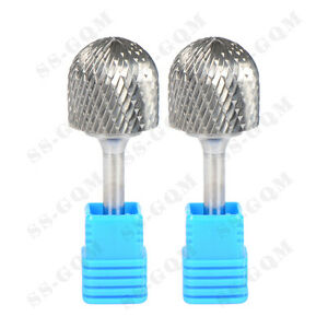 Solid Carbide Burrs For Rotary Drill Die Grinder Milling Carving Bits Tools