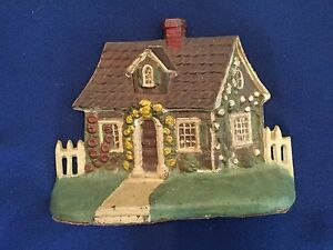 Vintage English Cottage Door Stop