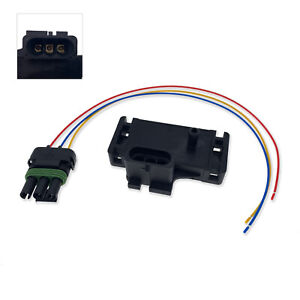 New For Various Gm Models 3 Bar Map Sensor With Connector Pigtail
