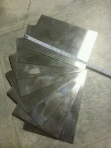 20 Pieces 22 Gage 6 X 4 Stainless Steel 430 Plate Metal Sheet Welding Coupon