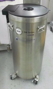 Chart Mve Mve205af gb 95 Liter Liquid Nitrogen Cryogenic Storage Freezer 5 Racks