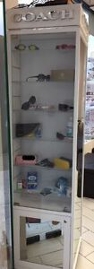 Coach Eyeglass Display Case Lighted Display Tower