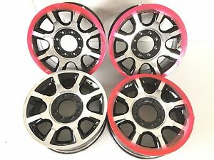20 20 Inch Oem Factory Ford Super Duty F250 F350 Wheels Rims Set 4 3844 8x170