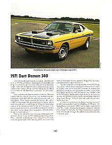 1971 Dodge Dart Demon Article Must See