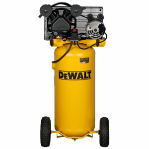 Dewalt 1 6 Hp 20 Gallon Oil lube Vertical Air Compressor Dxcmla1682066 New