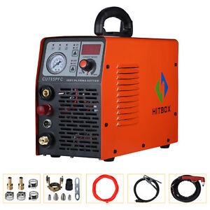 50a Plasma Cutter 110v 220v Dual Voltage Gas Cutting Machine Combo Cut 10 30mm