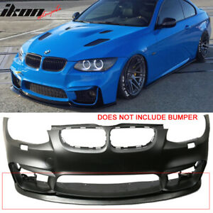 V1 Style Pu Front Bumper Lip For 11 13 Bmw E92 Lci Models With M4 Style Bumper